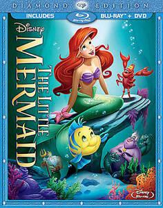 Nuevo-La-Sirenita-Blu-ray-DVD-Conjunto-de-2-Discos-edicion-diamante-Envio-rapido