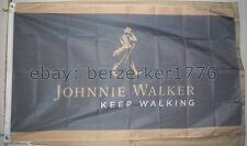 Johnnie Walker Keep on Walking Scotch 3'x5' Flag banner - USA seller shipper
