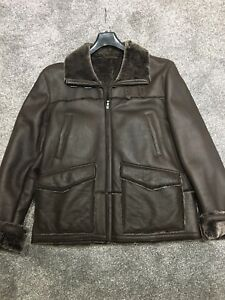079ed0bbaa5c2 Image is loading Ted-Baker-Leather-Jacket-Size-5