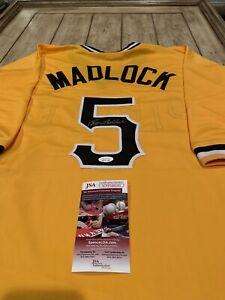 Bill-Madlock-Autographed-Signed-Jersey-JSA-COA-Pittsburgh-Pirates