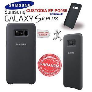 Custodia-Cover-Back-silicone-nero-Originale-Samsung-per-Galaxy-S8-PLUS-SM-G955