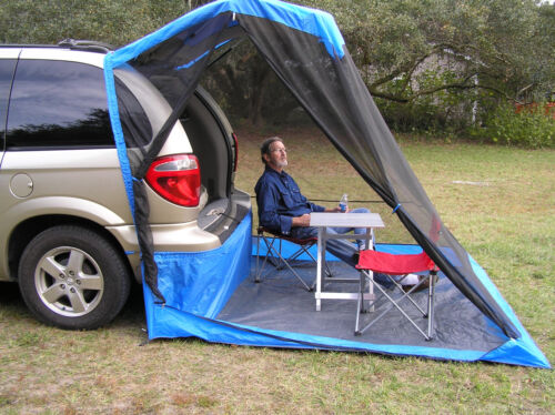 TailVeil SUV Minivan Tent w//rainfly stuff sack and tent stakes