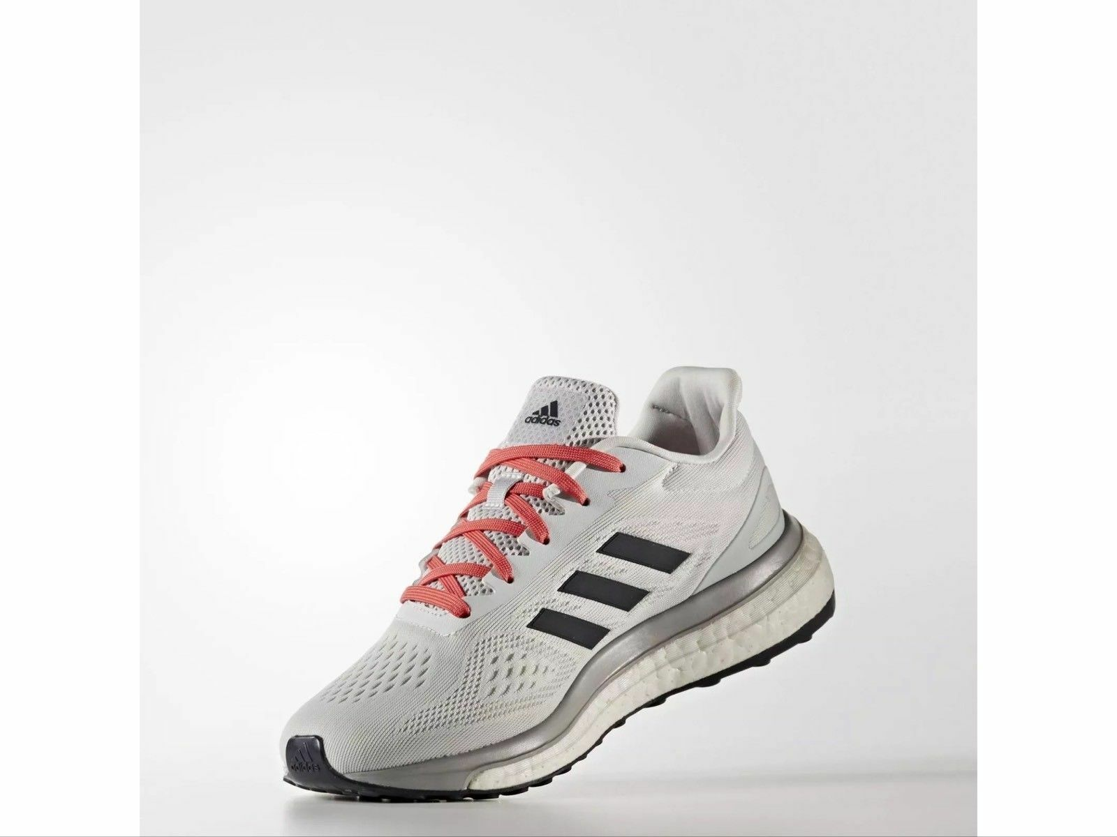 New Women's Adidas Response Boost Limited Running Shoes Grey Sonic Drive