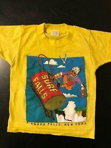 Vintage-80s-1988-Youth-Kids-Surf-Niagara-Falls-New-York-T-Shirt-Vacation-Funny