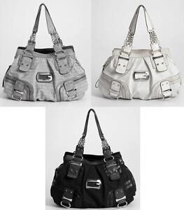 Dettagli su Guess Introduce Incredibile Jilly Collezione Borsa Bag Gray CarboneStone