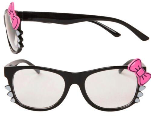 LENTE Trasparente Quadrato Quadrato Geek Gatto Kitty Whisker Hello Ladies donna 6016