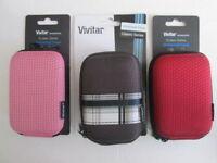 Vivitar Universal Cases Holds Digital Cameras ,phones.assorted Colors Lot Of 10