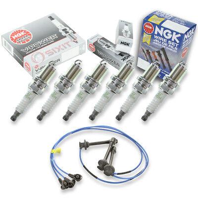 NGK Spark Plug Wires for 95-04 Toyota Tacoma 3.4L V6 Kit Set Tune Up hr