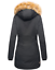 Marikoo-karmaa-senora-invierno-chaqueta-chaqueta-Parka-abrigo-forro-calido miniatura 15