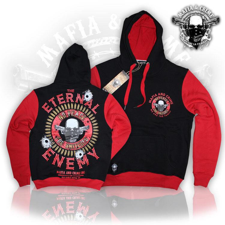Mafia & Crime Herren Kapuzensweater We are the Family Hoodie Kaputzenpullove