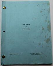 Bucky Larson: Born to Be a Star * 2009 Original Movie Script * Adam Sandler Film