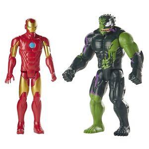 Spider-Man-Maximum-Venom-Titan-Hero-Iron-Man-Vs-Venomized-Hulk