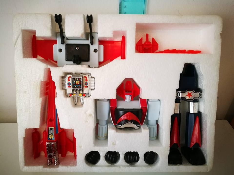 Danguard Multi Position Robot Vintage giocattolo 1979 fatto In Hong Hong Hong Kong 7802ae