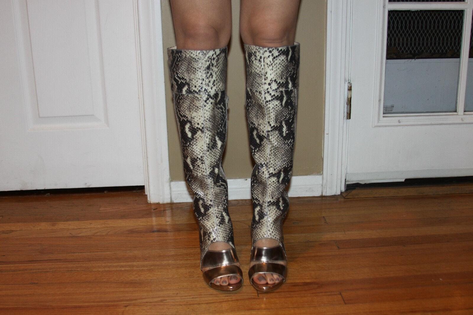 Guess the Condolan3 Open Toe Synthetic Over the Guess Knee Boot SZ 6 ccba4e