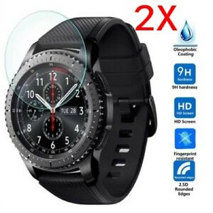 2Pcs-9H-Tempered-Glass-Screen-Protector-For-Samsung-Gear-S2-S3-Classic-Frontier