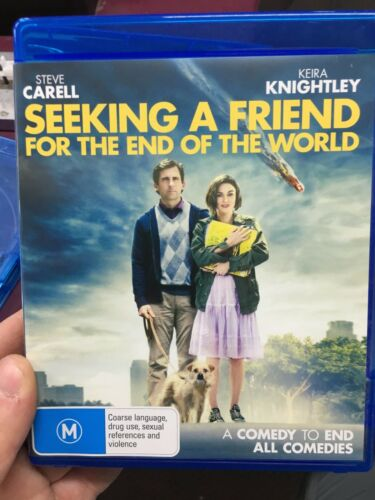 1 of 1 - Seeking A Friend For The End Of The World ex-rental BLU RAY (2012 movie)
