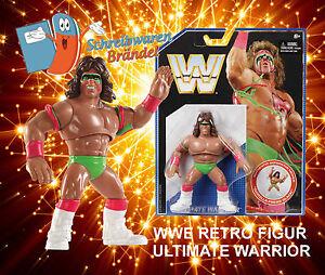 WWE-MATTEL-Retro-Wrestling-Figur-ULTIMATE-WARRIOR-Elite-Basic-WWF-Retro