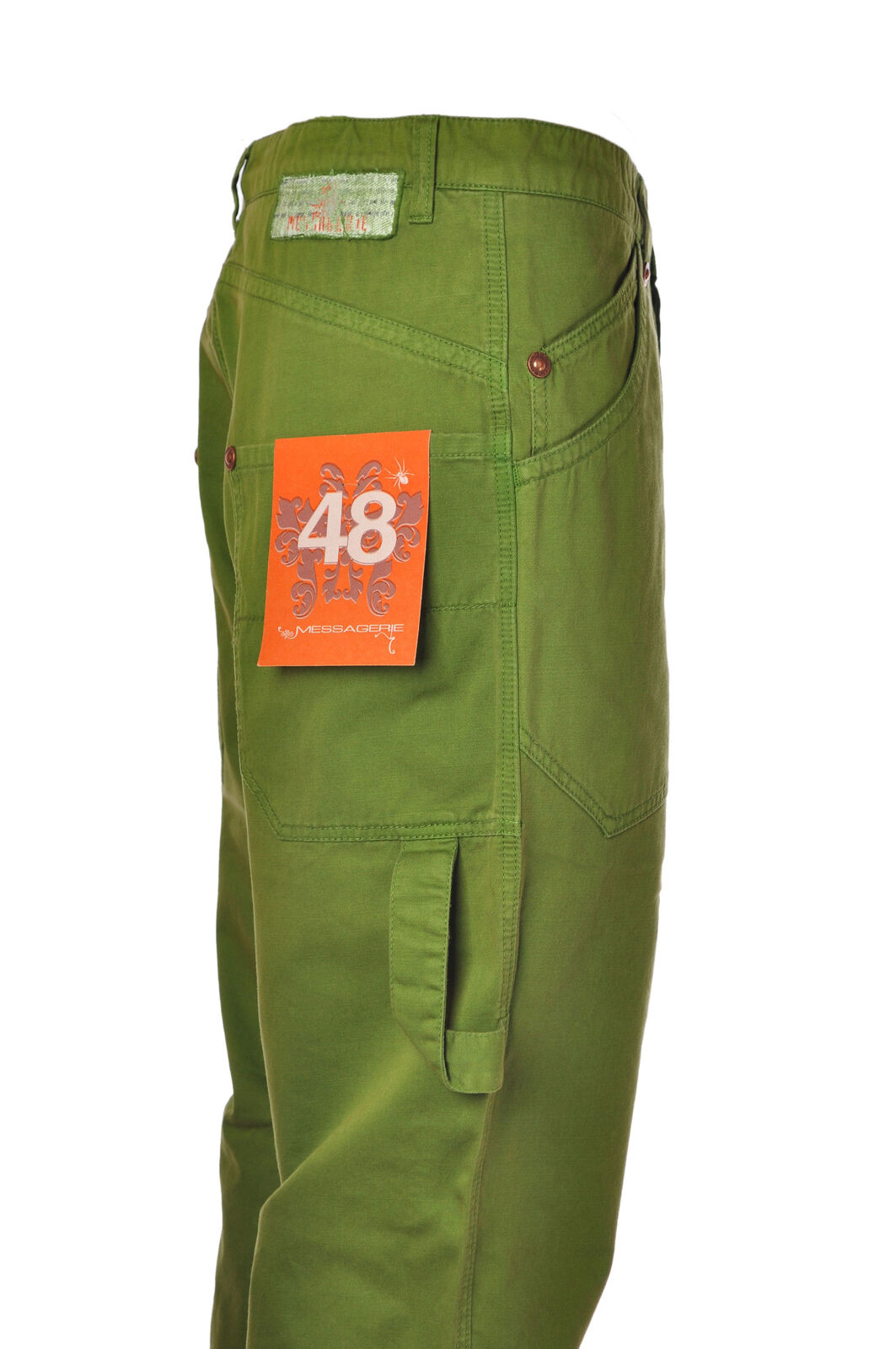 Messagerie  -  Pants - Male - Green - 2846231N173648