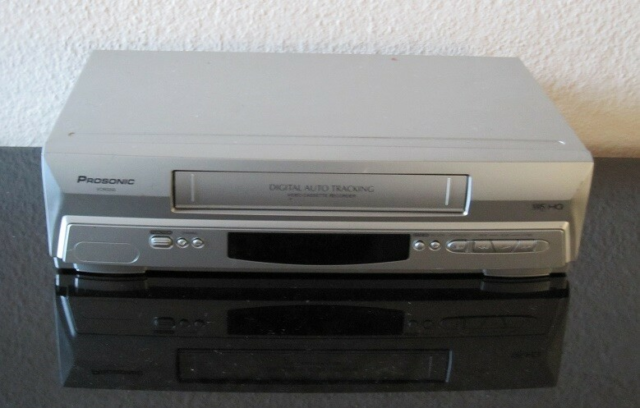 VHS videomaskine, Prosonic, VCR52550, God, fin video…