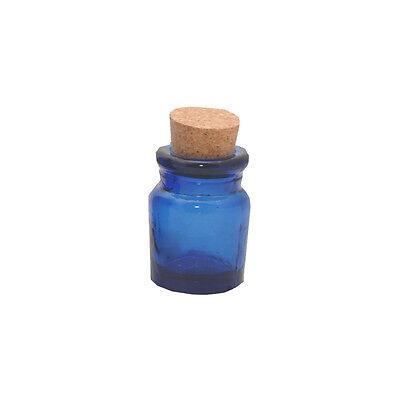 0037.321 Ravenhead Naturals 5cm Blue Spice Herb Jar With Cork Lid