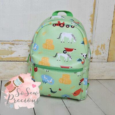 embroidered powell craft Nursery Bag Personalised Sunshine Backpack School
