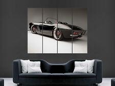 CHEVROLET CORVETTE C1 1962 CONVERTABLE  CLASSIC CAR ART LARGE WALL POSTER PRINT