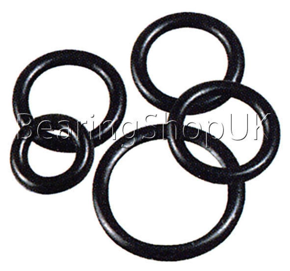 8 x Silicone 2 mm Silicone x 70 O'ring (1000x) 0e69be