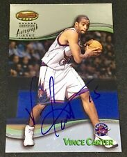VINCE CARTER 98-99 Bowman's Best AUTO AUTOGRAPH RC ROOKIE SP ! RARE ! RAPTORS !