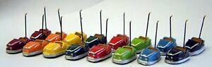 16-1970-Dodgem-cars-Funfair-Q6-UNPAINTED-OO-Scale-Langley-Model-Kit-Plastic