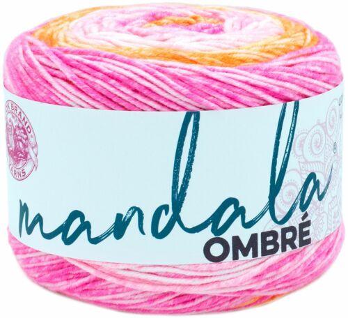551-207 3 Pack Lion Brand Mandala Ombre Yarn-Serene