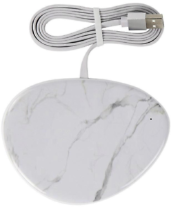 7mm-Thin-White-Marble-Qi-Wireless-Charger-Charging-Dock-Pad-Fast-Charger-10W