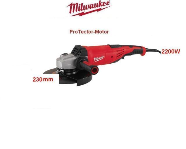Milwaukee Winkelschleifer AGV 22-230   Ohne Verpackung.