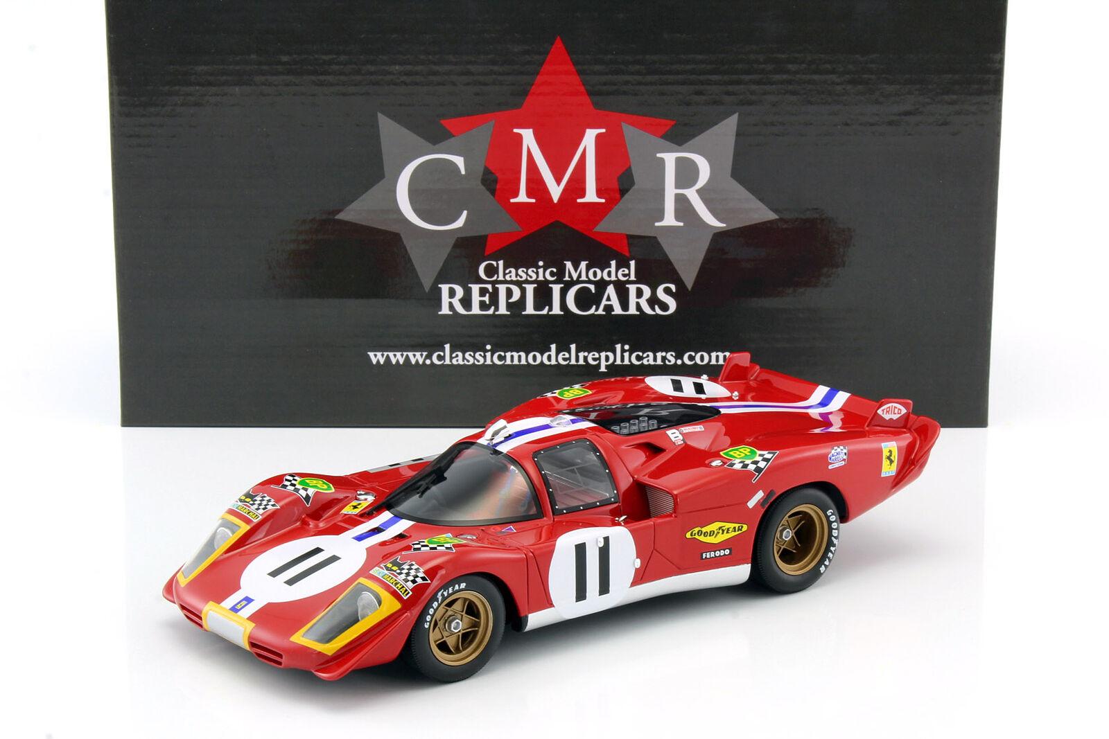Ferrari 512s  11 4th 24h 1970 Lemans bucknum, posey 1 18 cmr
