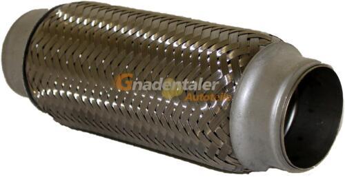 Flexrohr Flexstück flexibles Krümmerrohr Hosenrohr aus Edelstahl 51x200 MM