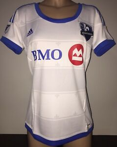 best service 6aa5b 27a91 Details about Adidas MONTREAL IMPACT 2017-18 Away Womens Jersey MLS  Official Licensed M
