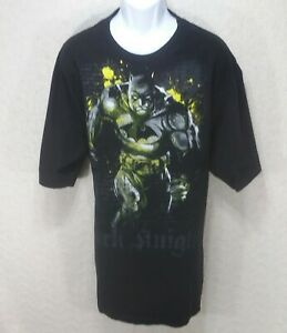 Fifth-Sun-Batman-Dark-Knight-T-Shirt-Mens-2XL-Black-Short-Sleeve-Crew-Neck-F1