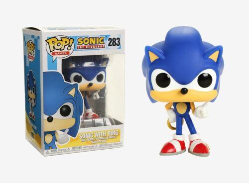 Funko Pop Games Sonic with Ring Vinyl Figure Item #20146 Sonic the Hedgehog