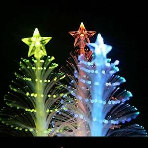 Mini-Christmas-Tree-Color-Changing-Flash-LED-Light-Shining-12-7cm-Decorated-Tree