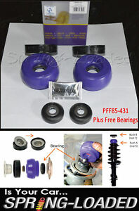 Powerflex-Delantero-Puntal-Superior-Mounts-Caida-de-10mm-para-Seat-Leon-amp-Cupra-R-Mk1-1M-99-05