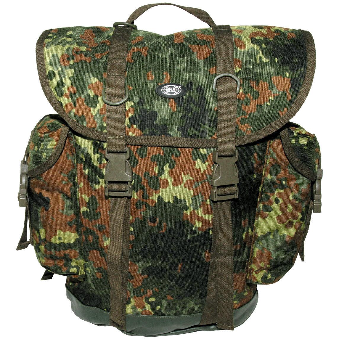 German Army Zaino Bw Montagna Zaino Da Da Da Trekking Travel Cordura Flecktarn Camo db38c8