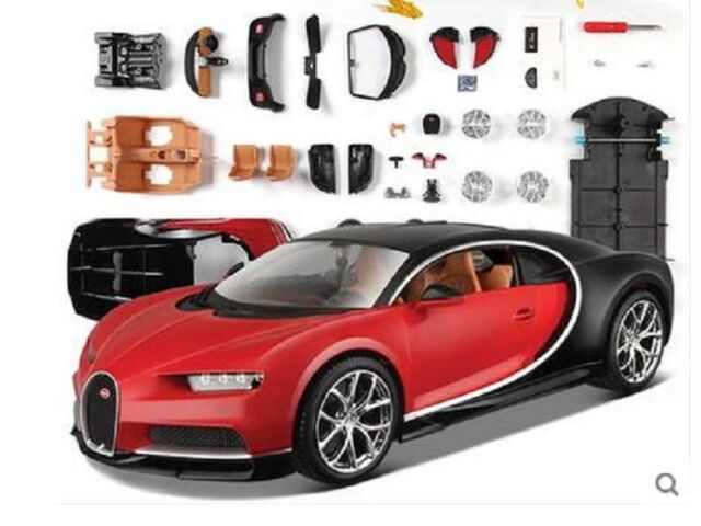 Bugatti Chiron Die Cast Metal Model Car Kit By Maisto Scale 1 24