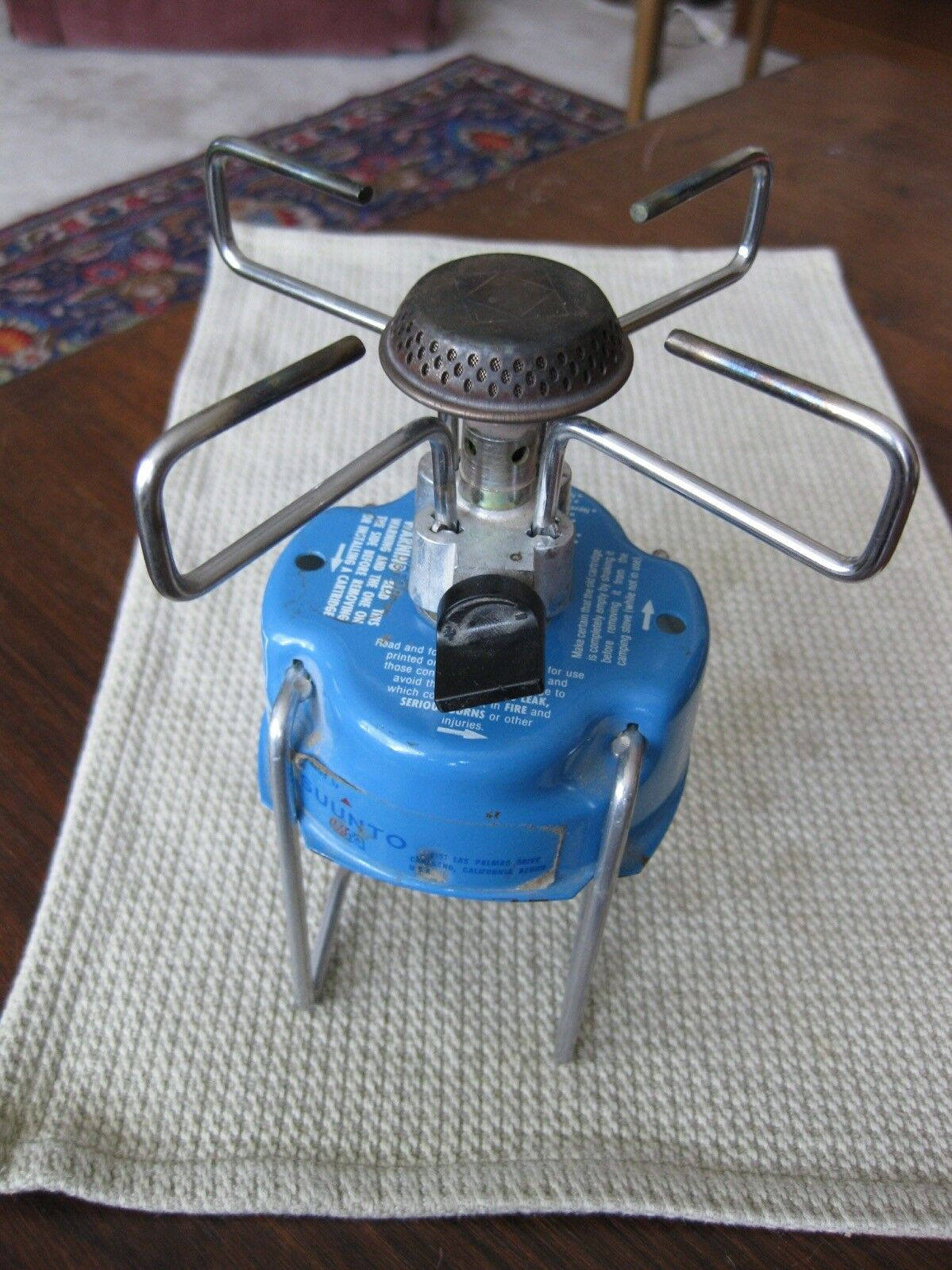 Vintage Suunto  Propane Hiking Stove Propane Lightweight Made in the USA Camping  lowest whole network