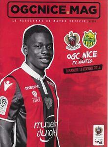 OGC-NICE-MAG-Programme-de-match-officiel-n-304-OGC-NICE-vs-FC-NANTES