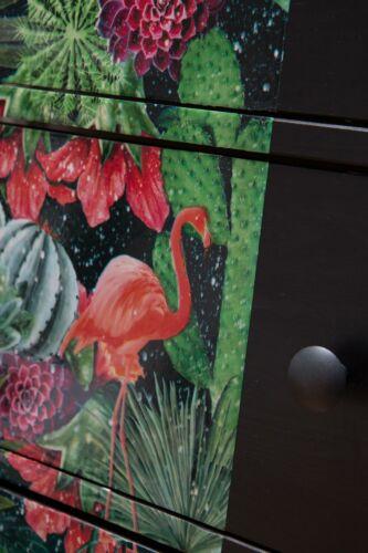 D-C-Fix Cintia Tropical Floral Self Adhesive Film 1.5 M x 45 cm Green Pink Teal