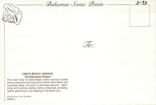 The Bahamas Riviera Cable Beach Nassau White Sand Beach --- Postcard Hotels