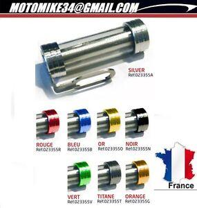 NOIR-Porte-Support-Tube-Vignette-Etanche-Assurance-Etanche-Moto-cylindrique