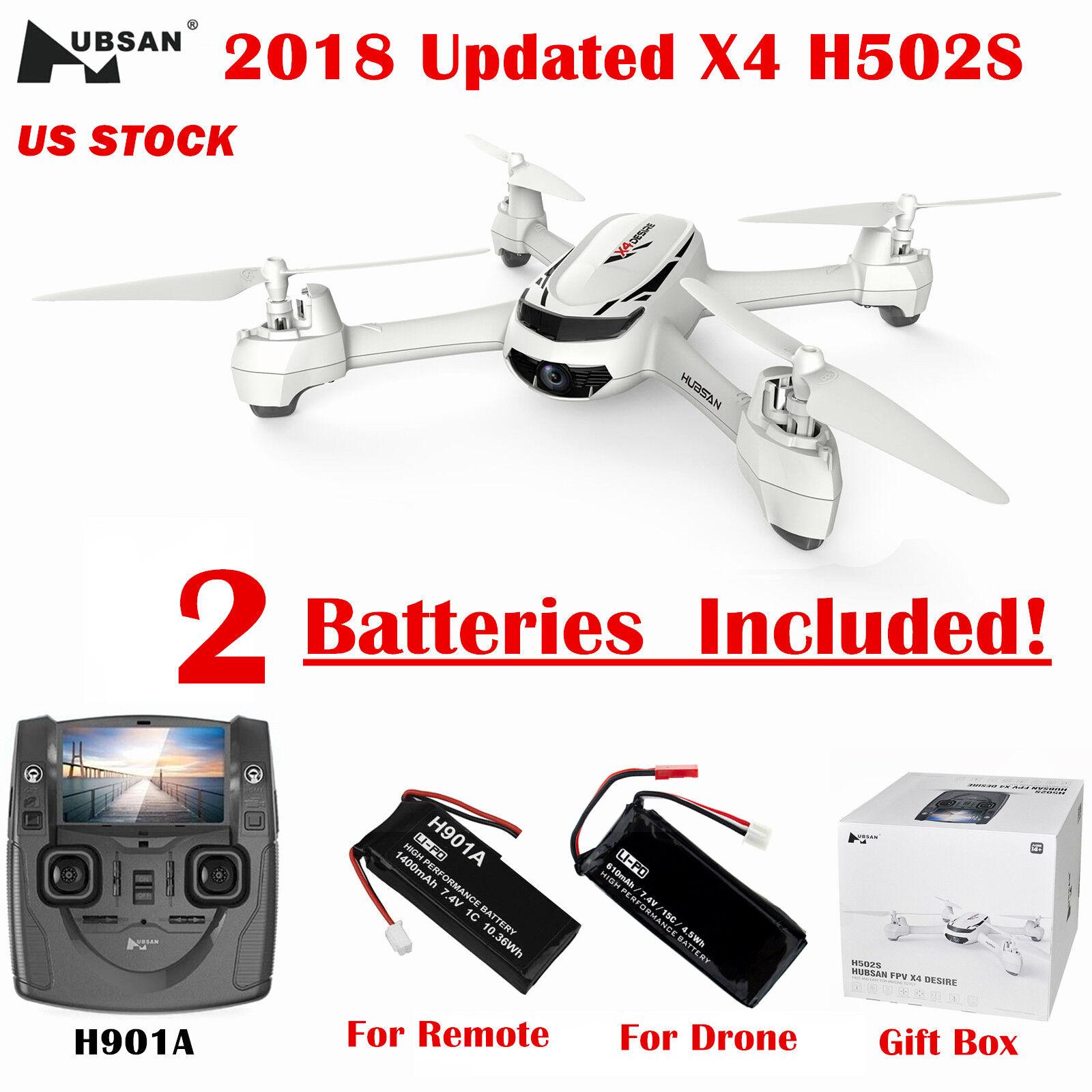 Hubsan X4 H502S Drone FPV RC Quadcopter W  720P GPS Headless Follow Me RTH RTF