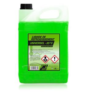 Liquide-de-refroidissement-vert-35-C-Universel-5L-FL-039-AUTO