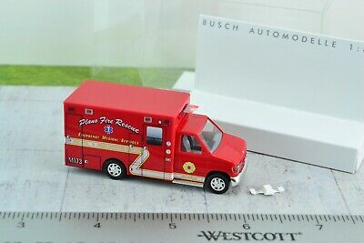 Busch 47735 HO 1//87 Ford Model AA Truck Undecorated Red NIB