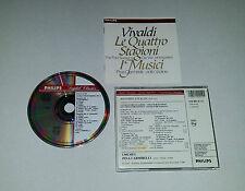 CD  Vivaldi - Le Quattro Stagioni - I Musici  12.Tracks  1982  03/16
